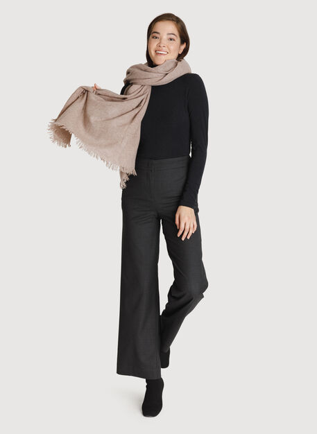 All Over Softness Scarf, Hthr Beige | Kit and Ace