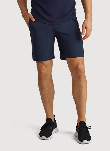 Navigator Commute Shorts 8 Inches, Dark Navy | Kit and Ace