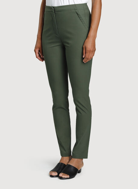 Navigator High Rise Pant, Ivy | Kit and Ace