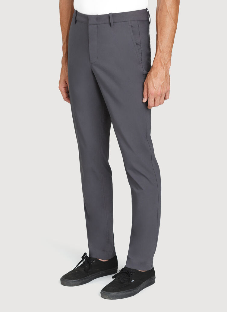 Commute Pants Standard Fit | Navigator Collection, Charcoal | Kit and Ace