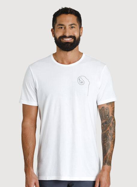 Mission Tee, TORIGRAPHIC-WHITE | Kit and Ace