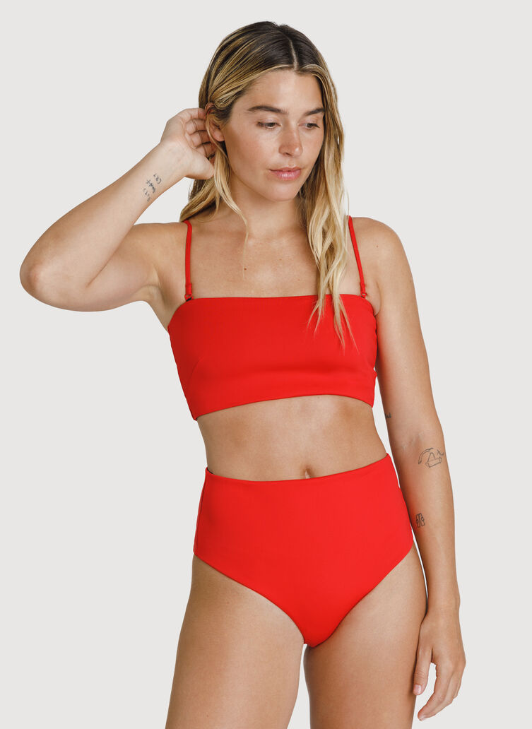 2 in 1 Bandeau Swim Top, Juice Bar   Kit and Ace