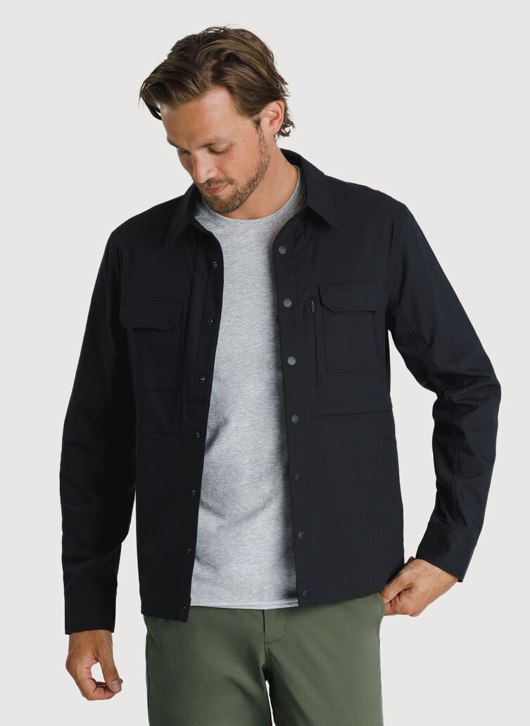 Navigator Commute Jacket, BLACK | Kit and Ace