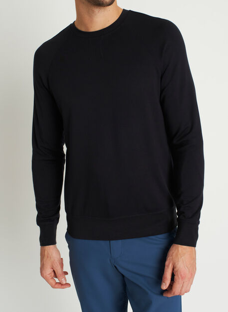 Chillin Brushed Pullover, Black | Kit and Ace