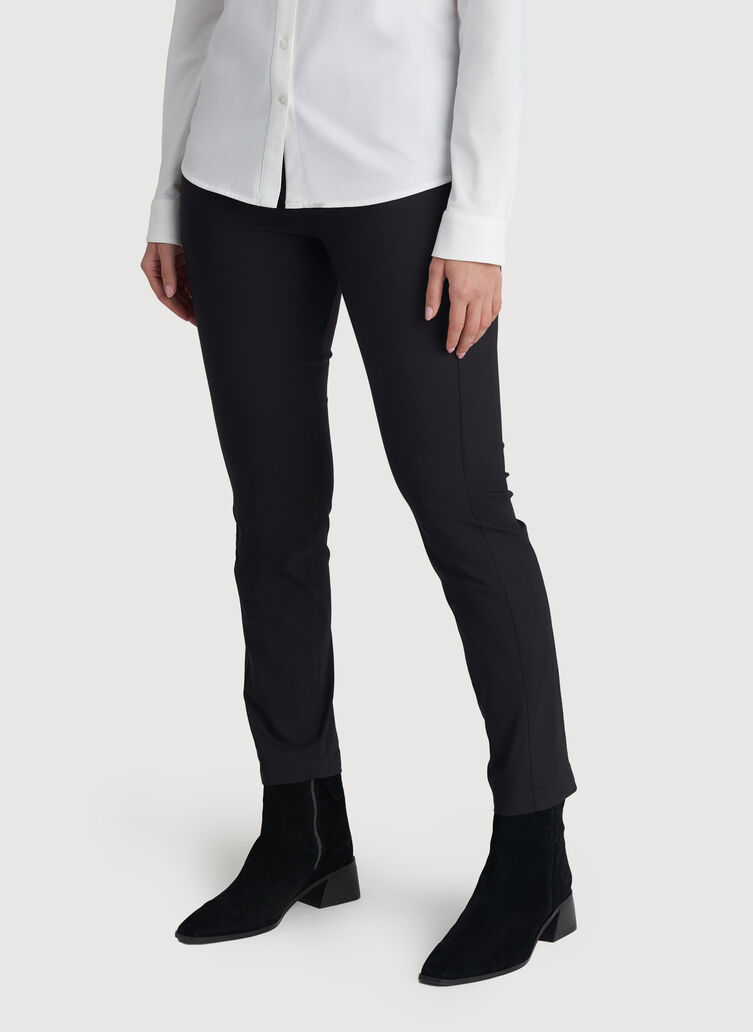 Classic Ankle Pant, BLACK | Kit and Ace