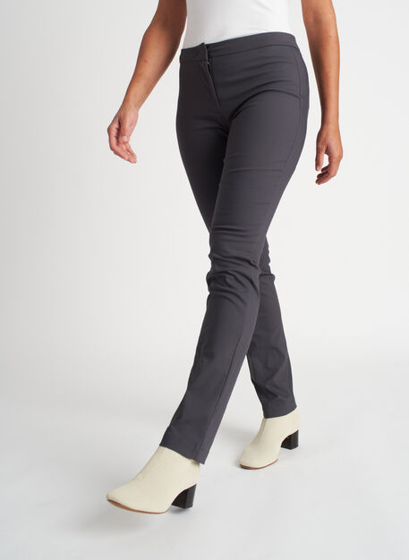 Modern Pants | Navigator Collection, Charcoal | Kit and Ace