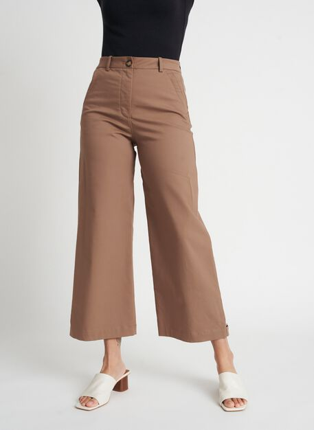 Around Town Crop Pants | Navigator Collection, Bark | Kit and Ace