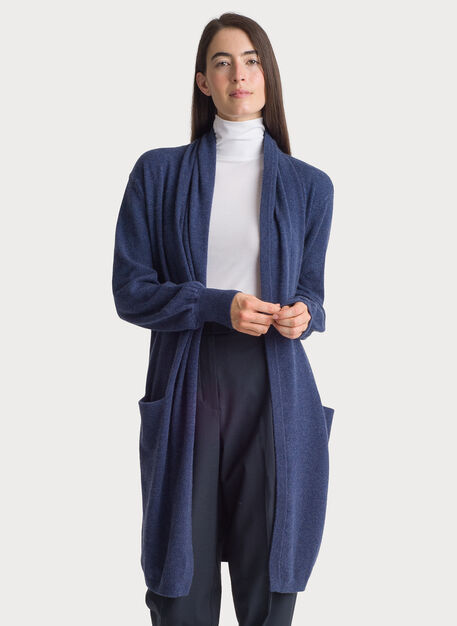Sunsetter Cardigan, HTHR Blue Stone | Kit and Ace