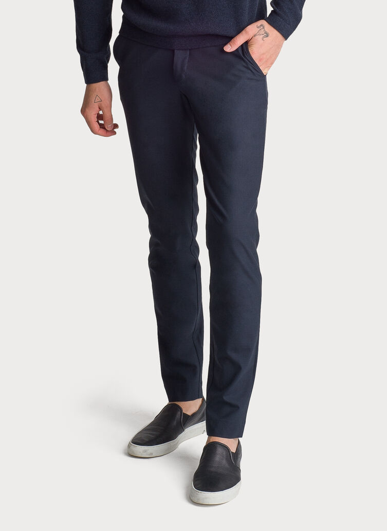 Fraser Stretch Trouser, DK Navy | Kit and Ace