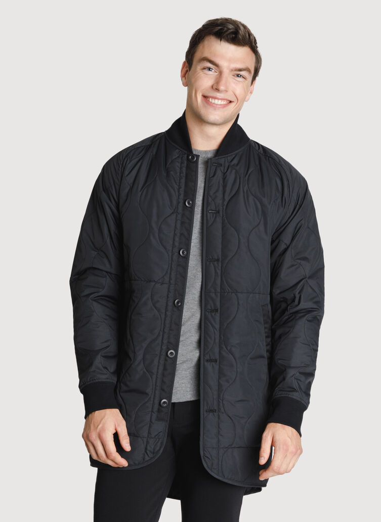 Ace Quilted Trench *Lightweight, KNA Black | Kit and Ace