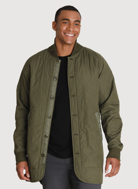 Ace Quilted Trench *Lightweight, Field | Kit and Ace