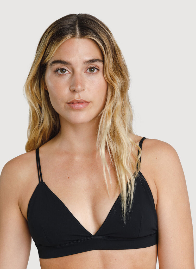 The Base Bralette, BLACK | Kit and Ace