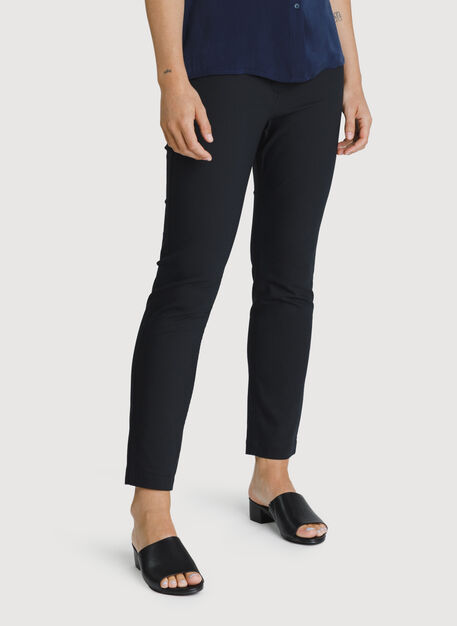 Navigator Ride Ankle Pant Skinny Fit, BLACK | Kit and Ace