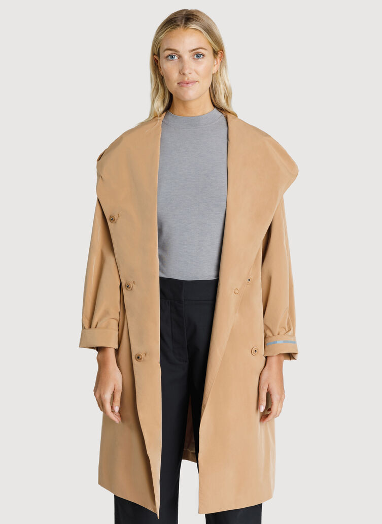 Feather Light Hooded Jacket, Sienna | Kit and Ace