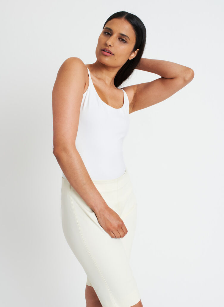The Kit Bodysuit, Bright White | Kit and Ace