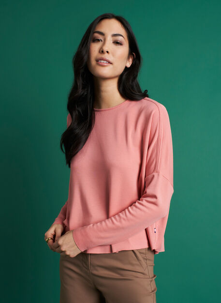 So Soft Pullover, Jasper Pink | Kit and Ace