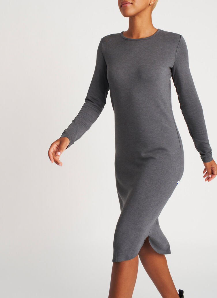 Good Feels Brushed Crewneck Dress,  | Kit and Ace
