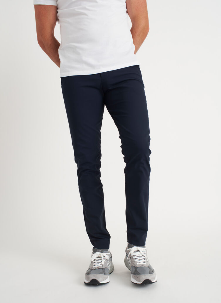 Commute Pants Slim Fit, Dark Navy | Kit and Ace
