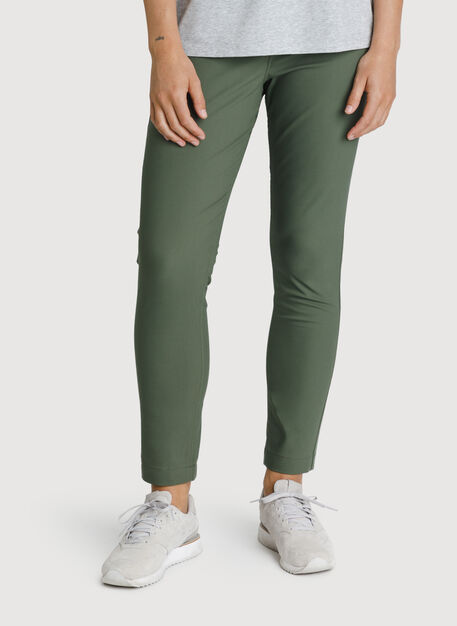 Navigator Ride Ankle Pant Skinny Fit, Field | Kit and Ace