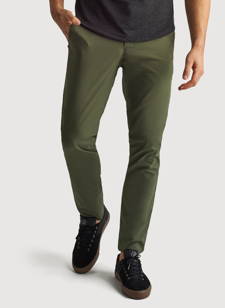 Commute Pant Slim Fit, Field | Kit and Ace