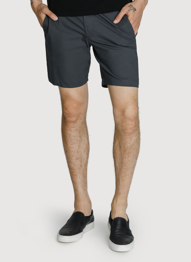 Navigator Stretch Short 2.0, Charcoal | Kit and Ace