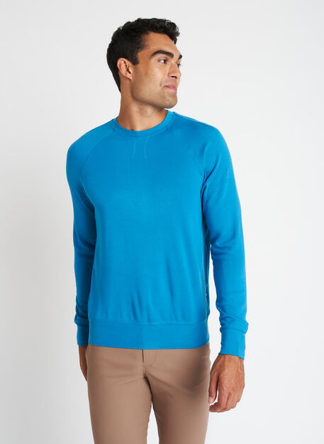 Chillin Brushed Pullover, Bright Blue   Kit and Ace