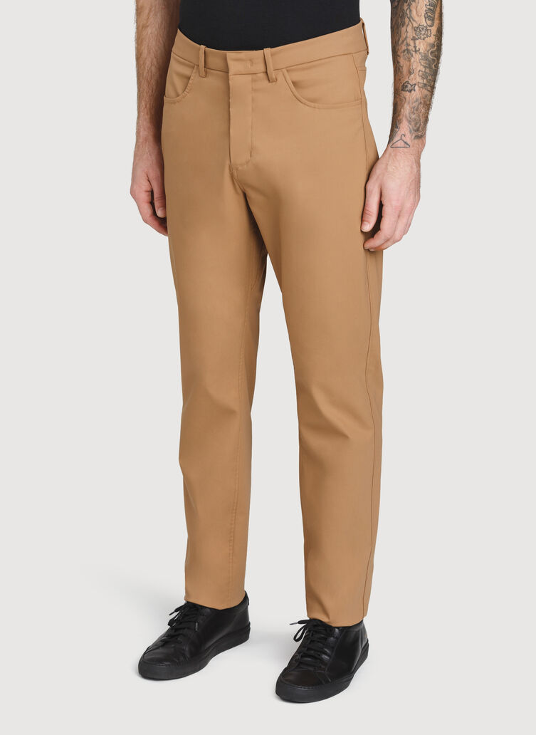Navigator 5 Pocket Commute Pant, Toffee | Kit and Ace