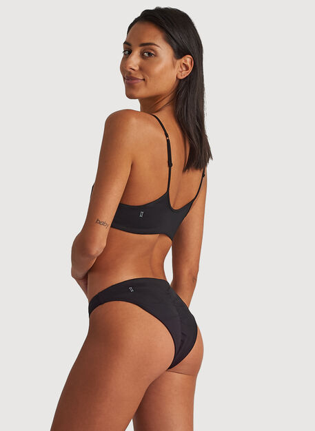 Cheeky Swim Bottoms, Black | Kit and Ace