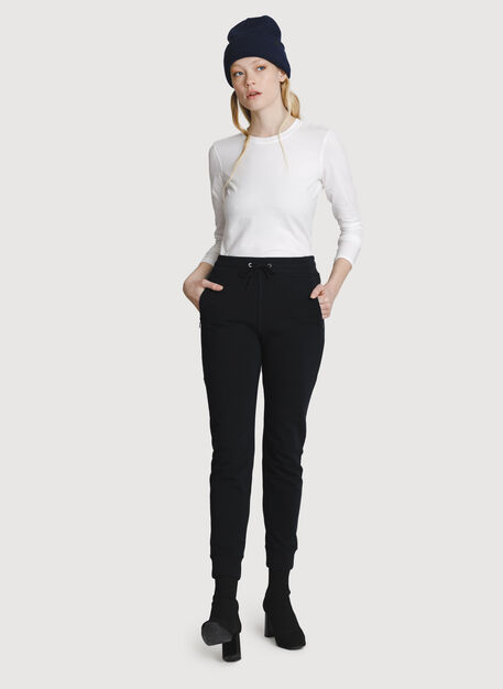 Terry Pull-on Pant, BLACK | Kit and Ace