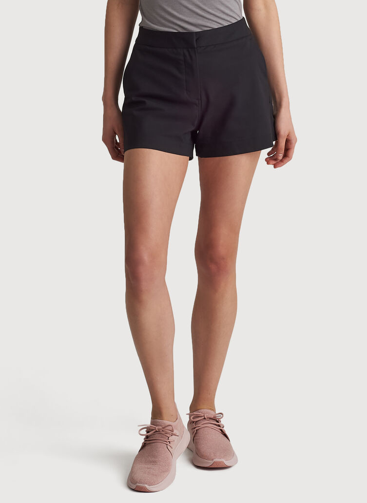 Navigator Ride Relaxed Short, BLACK | Kit and Ace