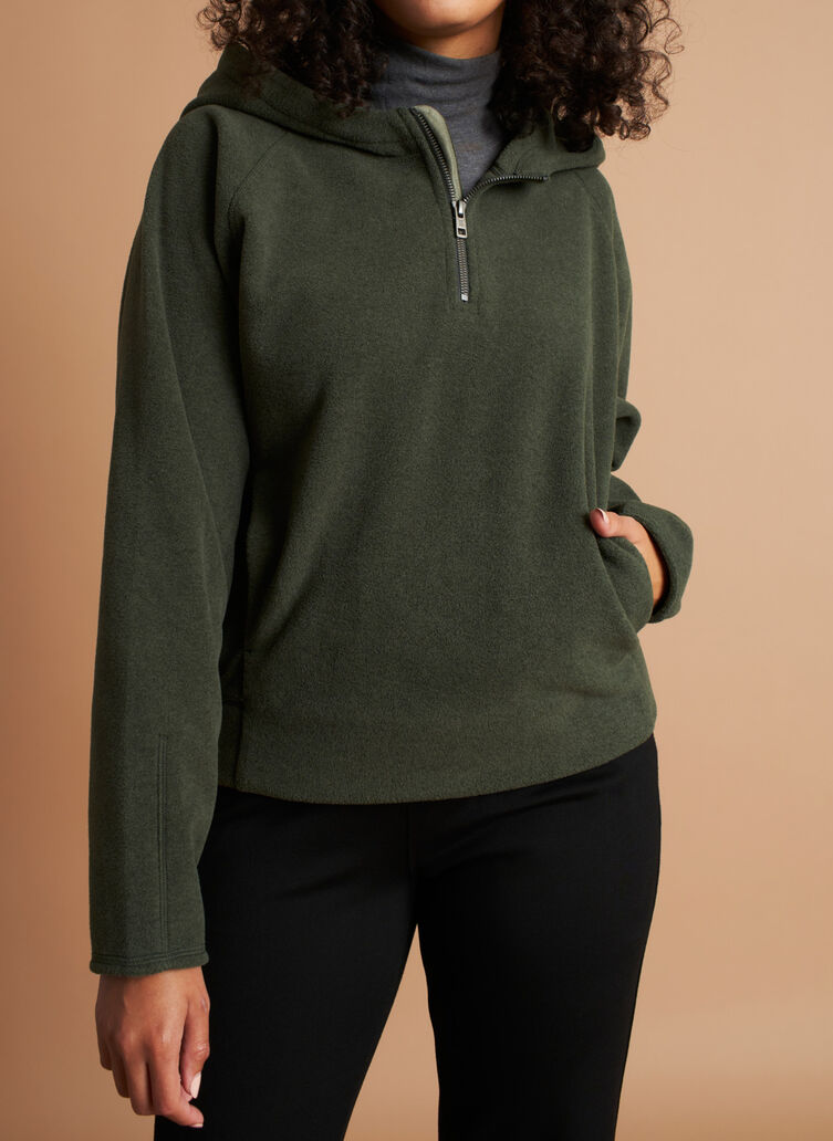 Hygge Hoodie, Deep Forest | Kit and Ace