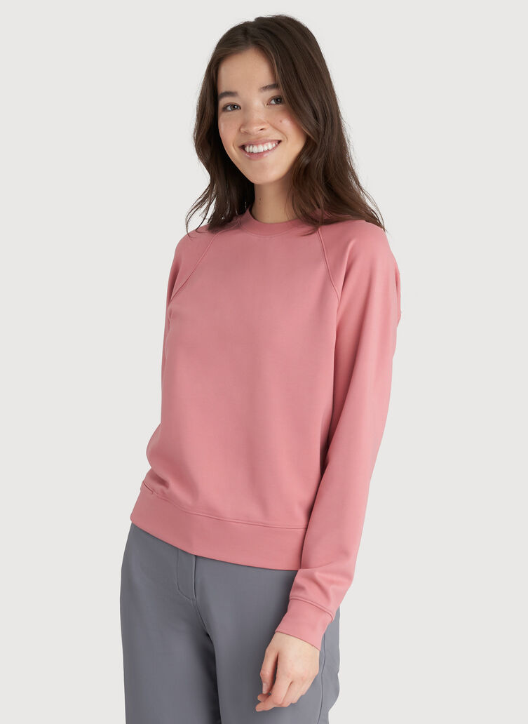 Made to Move Pullover, Dusty Rose | Kit and Ace