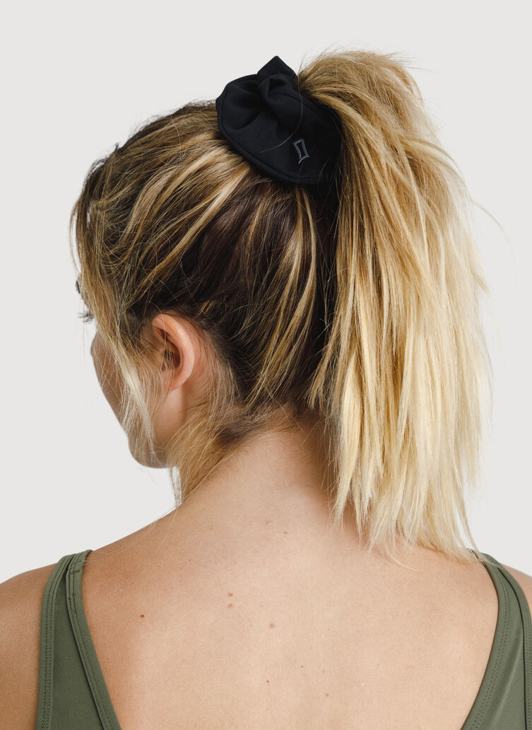 The Office Scrunchie, BLACK | Kit and Ace