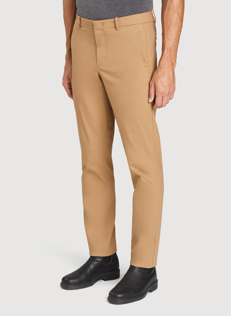 Commute Pants Standard Fit, Toffee | Kit and Ace