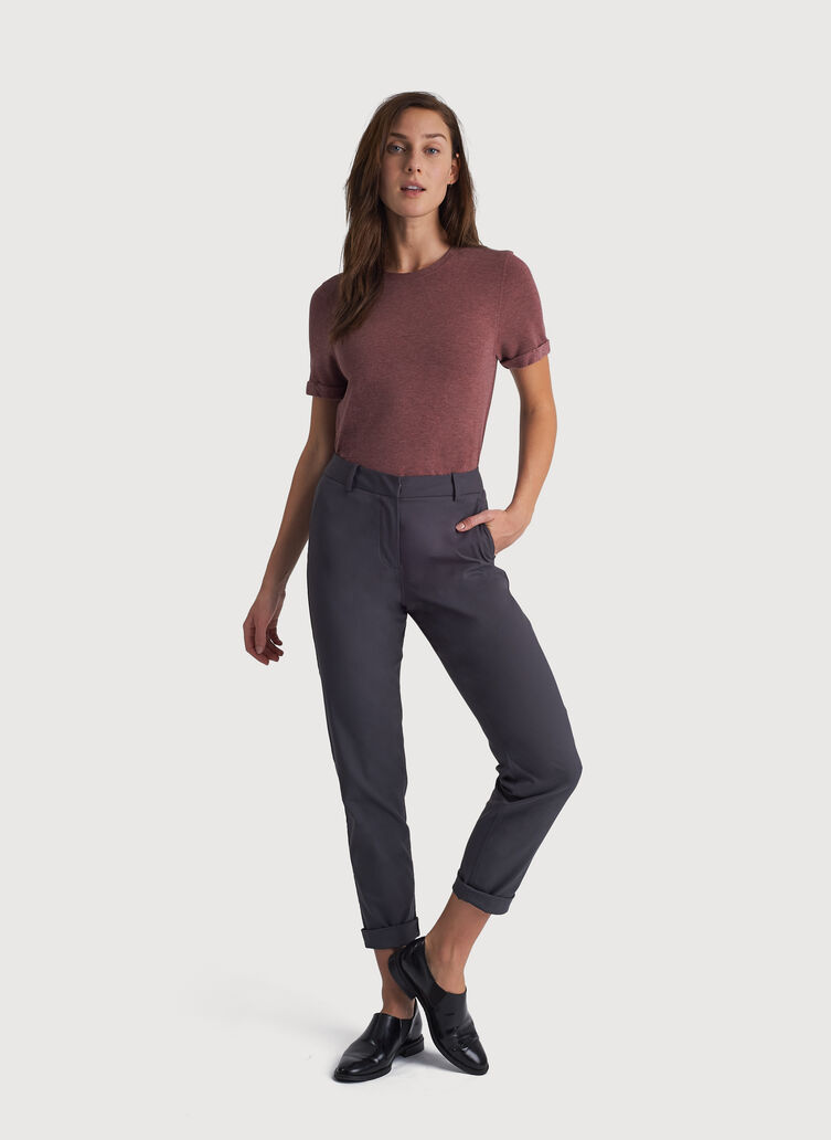 Navigator Ride Pant Slim Fit, Charcoal | Kit and Ace