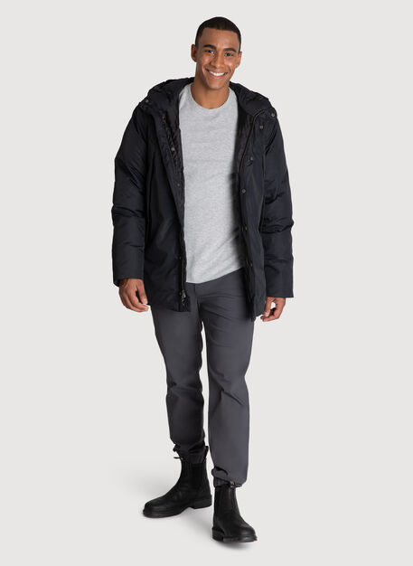 Ace Vented Puffy Jacket *Heavyweight, KNA Black | Kit and Ace