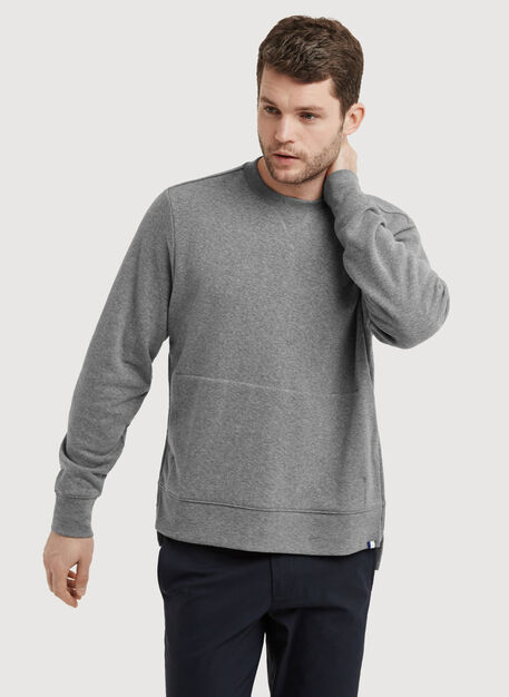 Terry Pullover, HTHR GREY | Kit and Ace