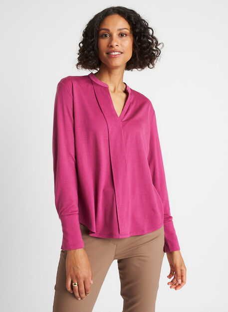 Merino Jersey Blouse,  | Kit and Ace
