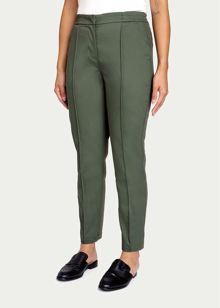 Navigator On The Go Ankle Pant, Ivy | Kit and Ace