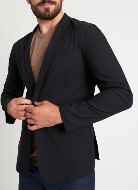 Commute Blazer | Navigator Collection, Black | Kit and Ace