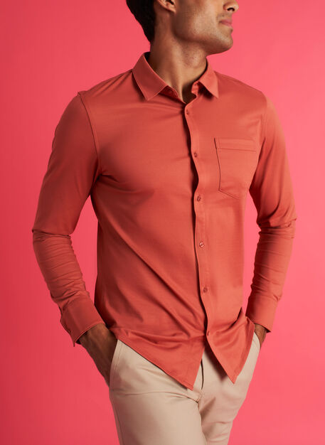 City Tech Classic Shirt, Ember | Kit and Ace