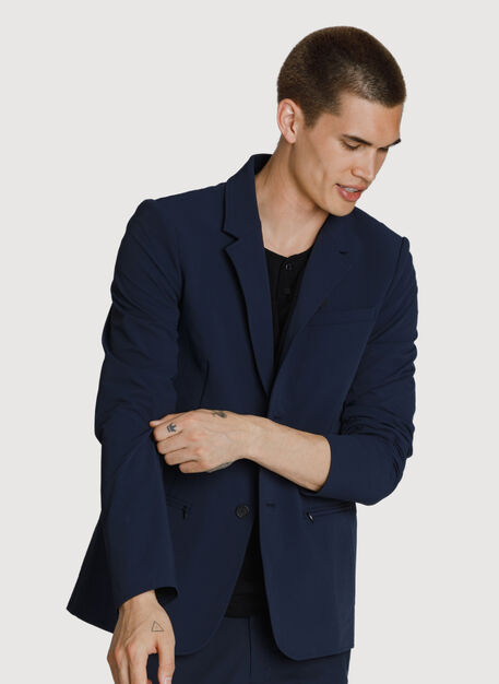 Tec Stretch Blazer, DK Navy | Kit and Ace