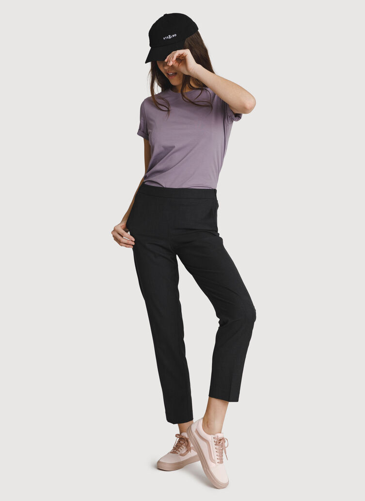 Go To Trousers 2.0, Heather Charcoal   Kit and Ace