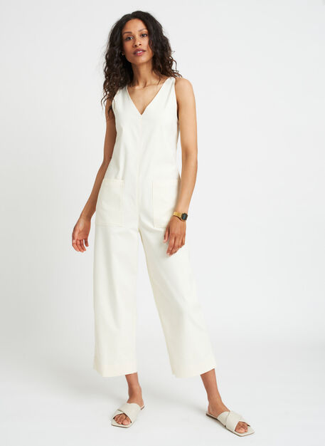 Sidewalk Jumpsuit | Navigator Collection, Canvas | Kit and Ace
