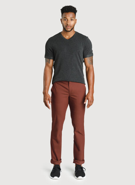 Navigator Commute Pant Standard Fit, Cherrywood | Kit and Ace