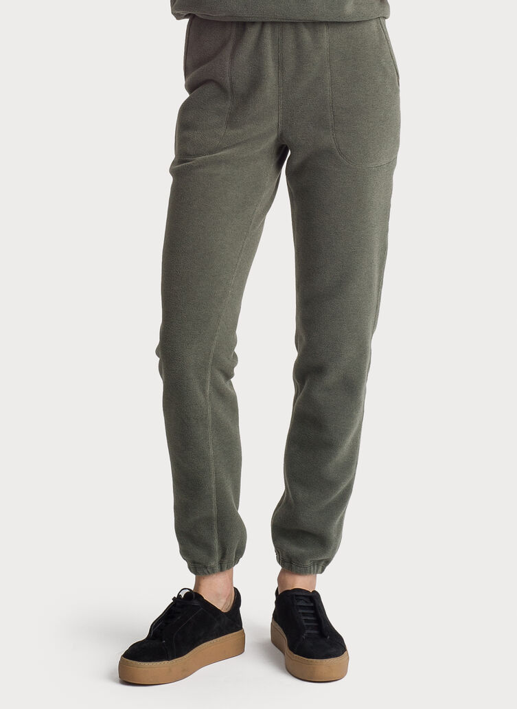 Chillout Fleece Pant, FERN | Kit and Ace