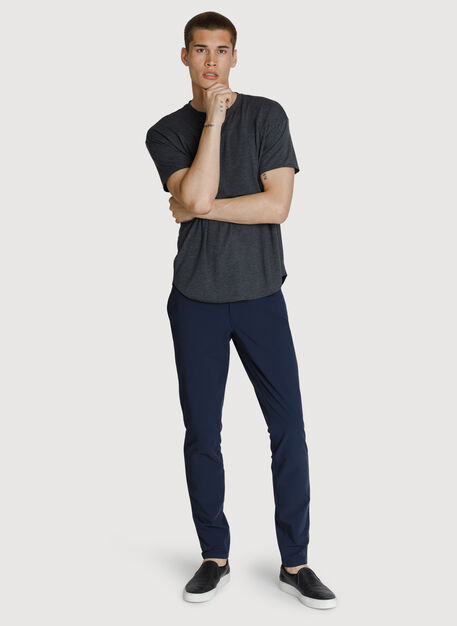 Six Pocket Stretch Pant, DK Navy | Kit and Ace