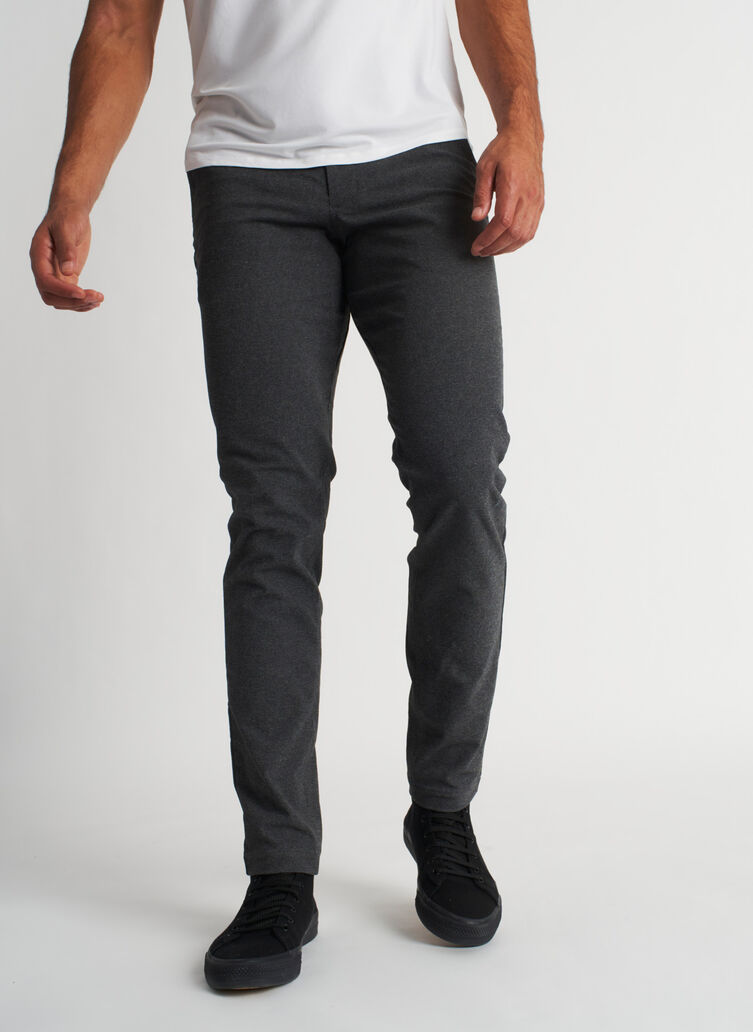 Going Places Pants, Heather Charcoal | Kit and Ace