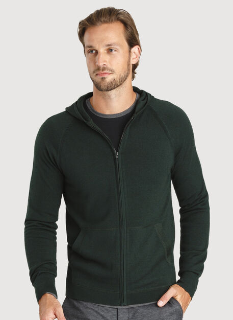 A to B Hoodie, Deep Forest | Kit and Ace