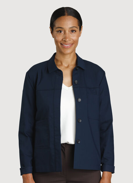 Navigator Ride Jacket, DK Navy | Kit and Ace